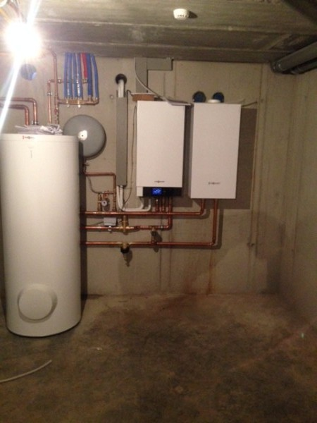 Verelst Heating - BKW - Plaatsten van lucht-water warmtepomp en gasketel  - Hombeek